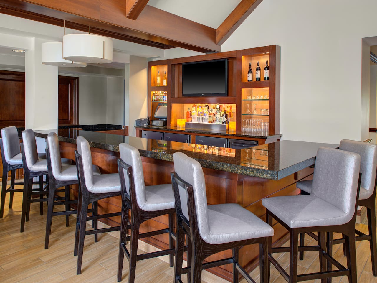Hyatt House Bar In Parsippany, New Jersey