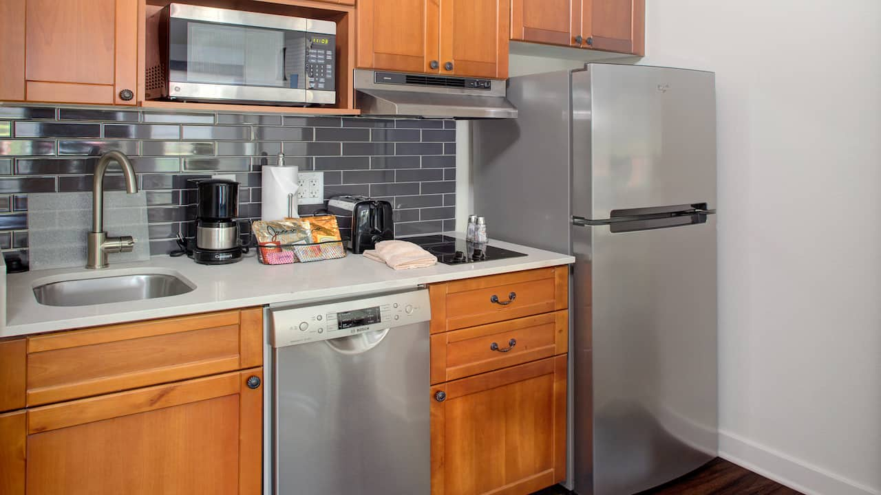 Hyatt House  Kitchen In Parsippany, New Jersey
