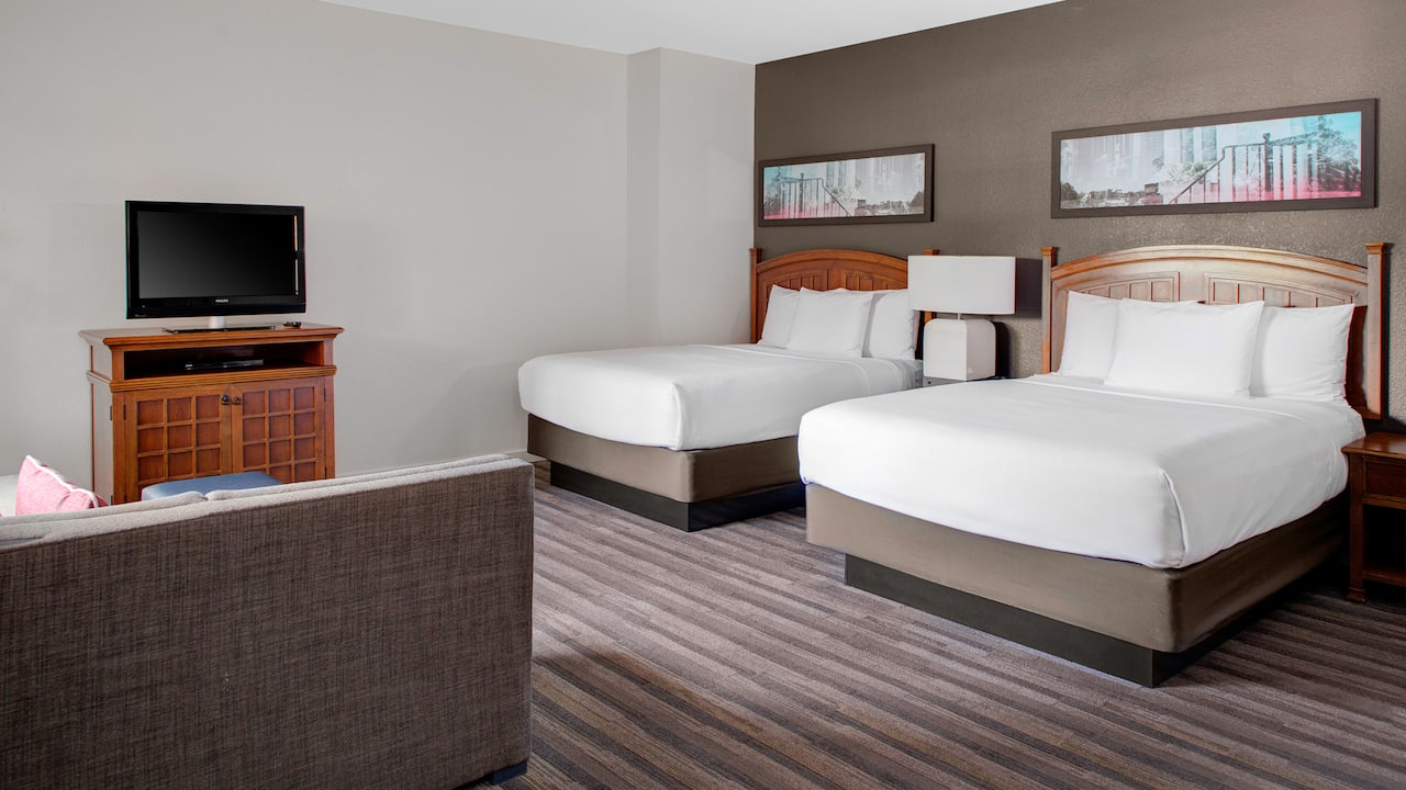 Hyatt House 2 Queen Beds Studio In Parsippany, New Jersey