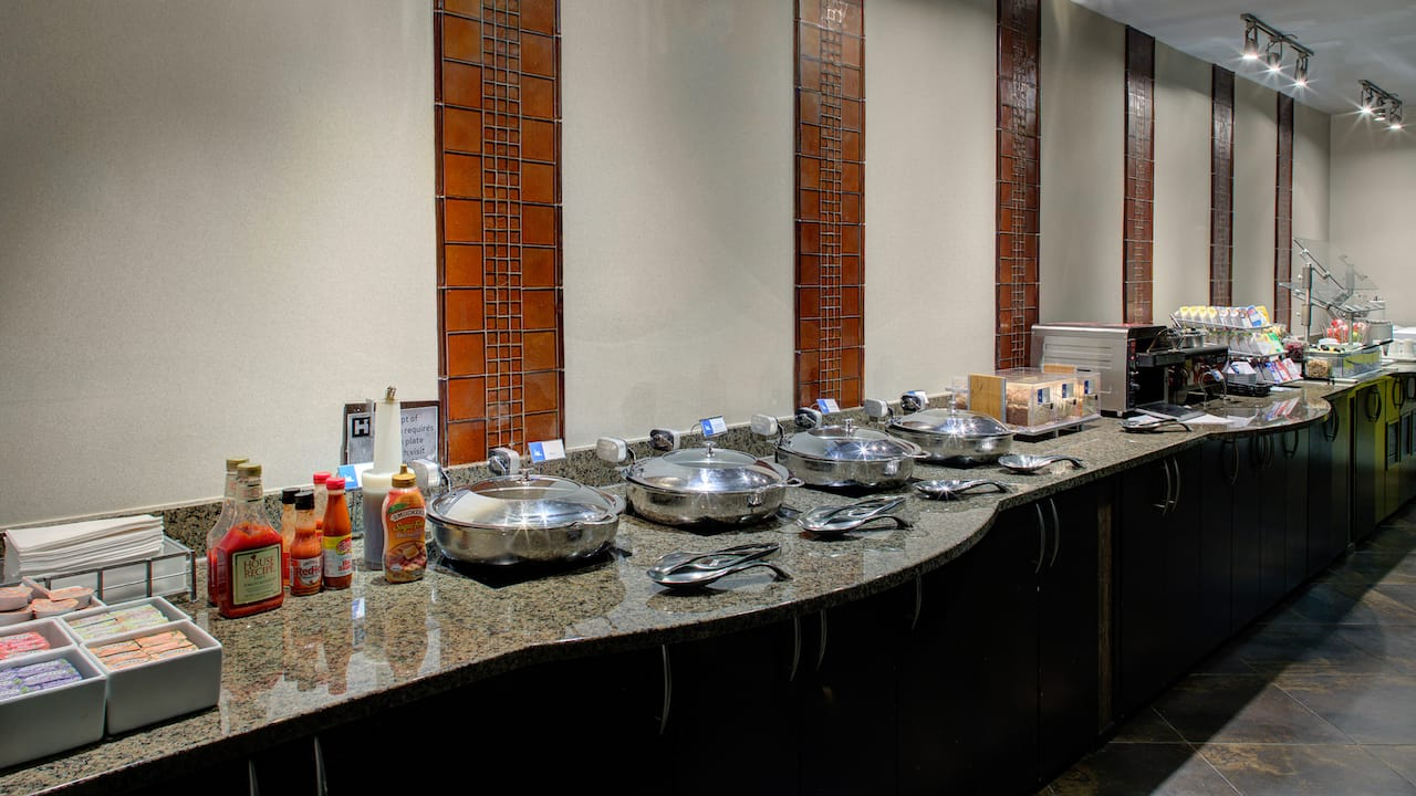 buffet spread hyatt house