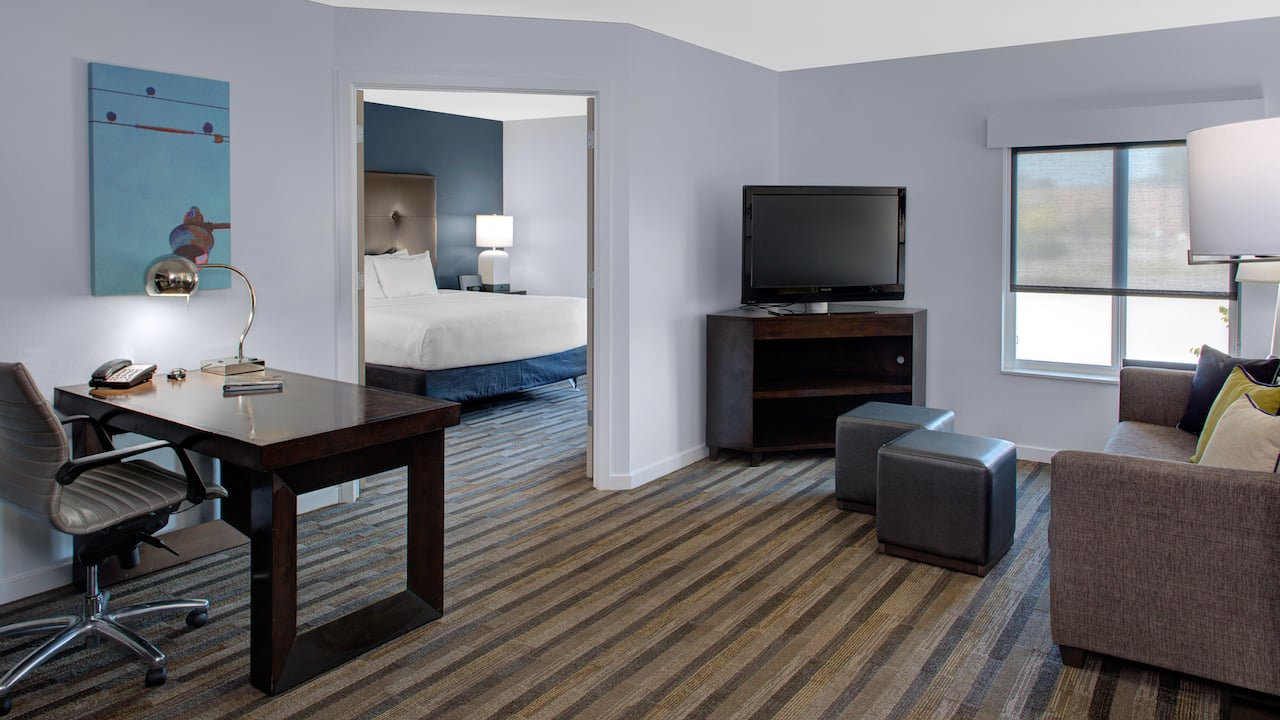 Hyatt House Raleigh Durham Airport Room