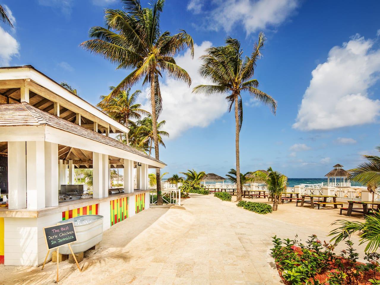 Barefoot Jerkz Beach Restaurant