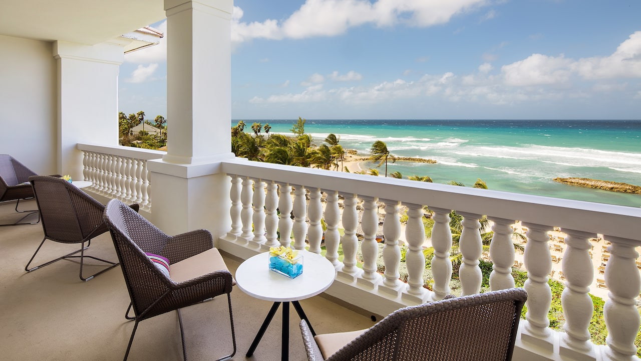 One Bed Ocean Front Butler Suite Balcony
