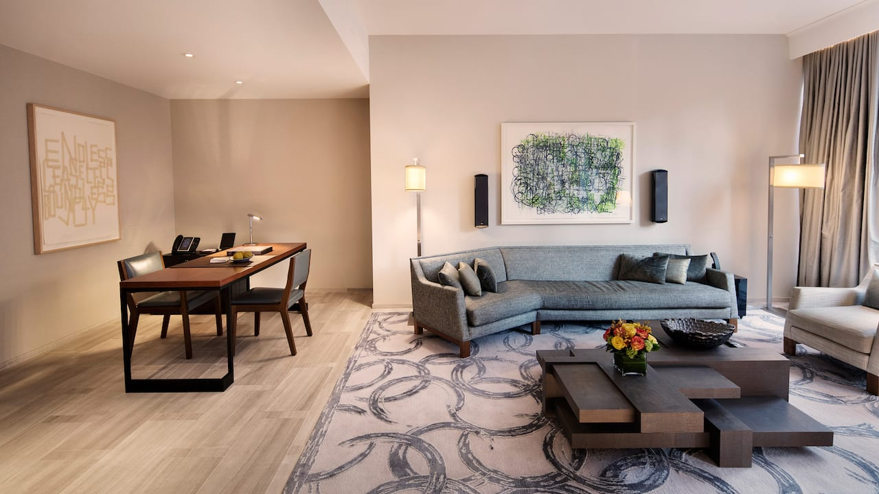 Residential Suite Living Room
