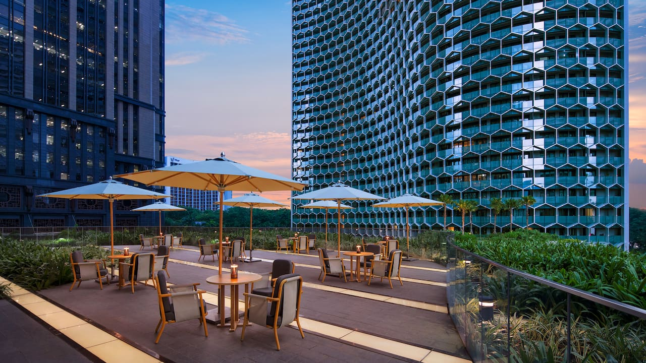 Garden Studio Events Spaces at the Andaz Hotel Singapore