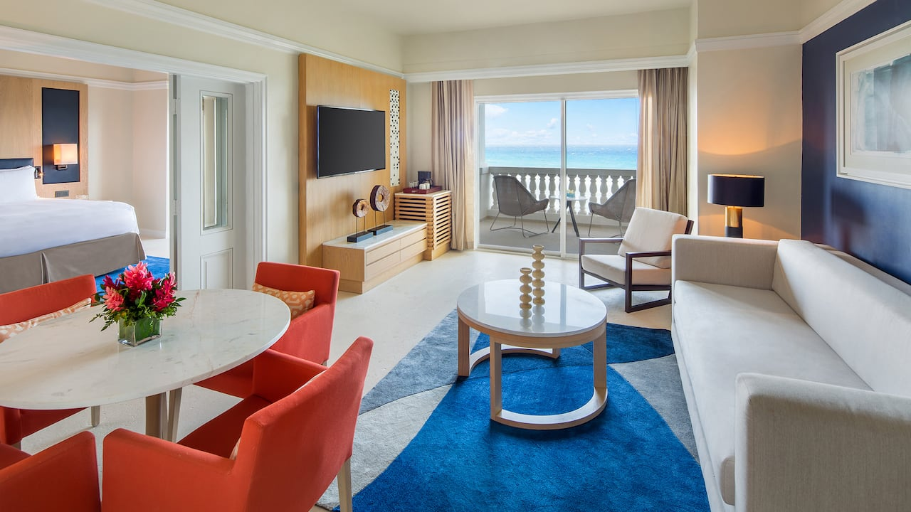 One Bed Ocean Front Butler Suite