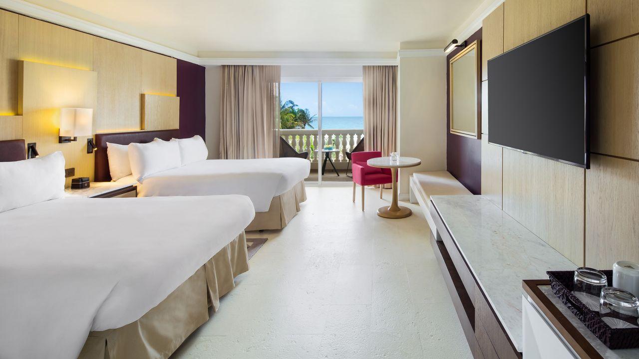Ocean Front Double Bed