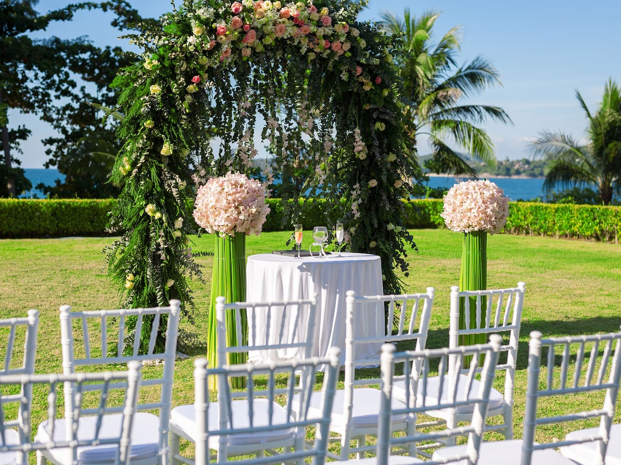 Phuket wedding in Kamala Bay Lawn