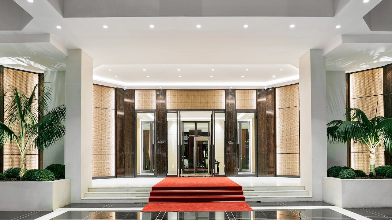 Hyatt Regency Casablanca Entrance