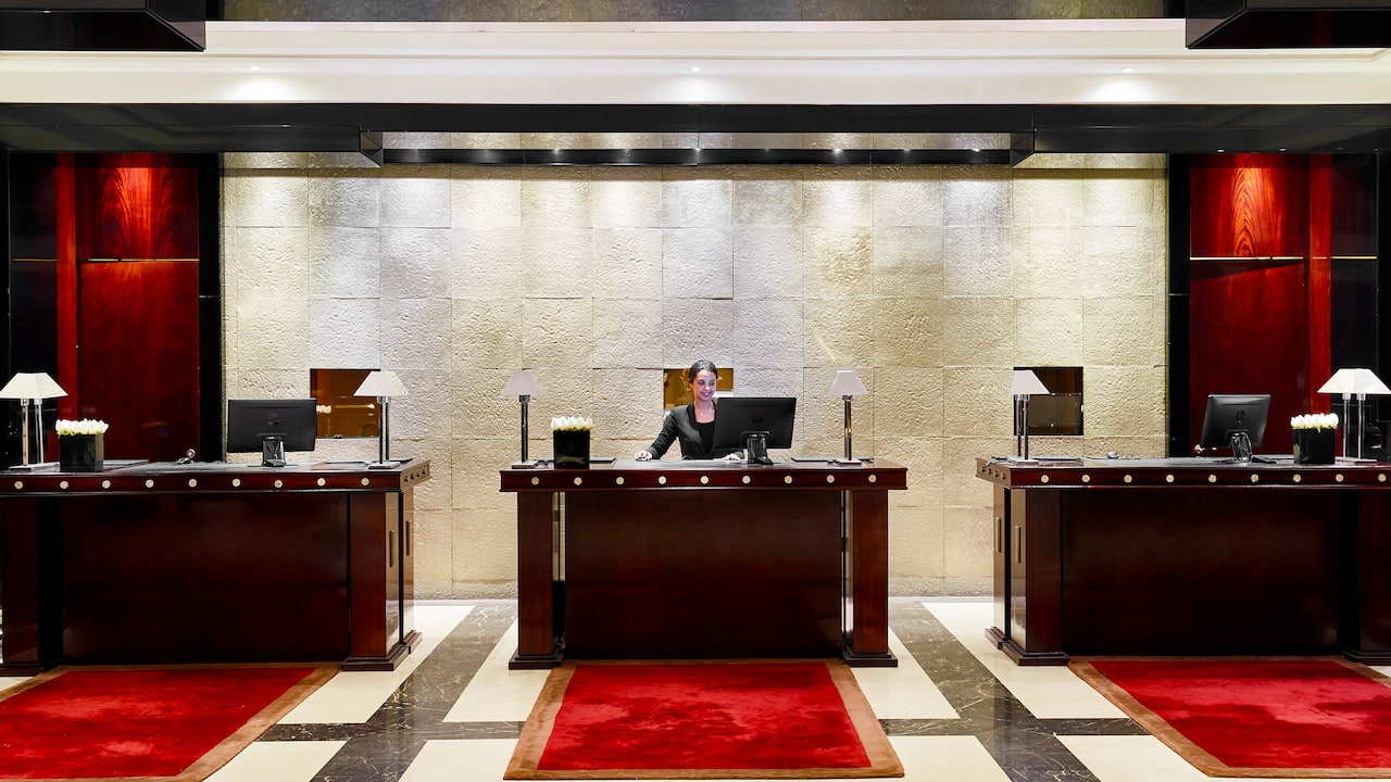 Hyatt Regency Casablanca Front Desk