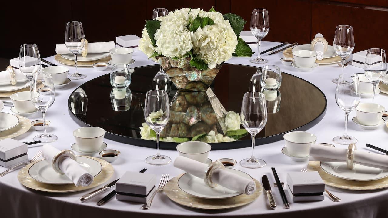 Grand Hyatt Kuala Lumpur - Weddings (Table Setting)