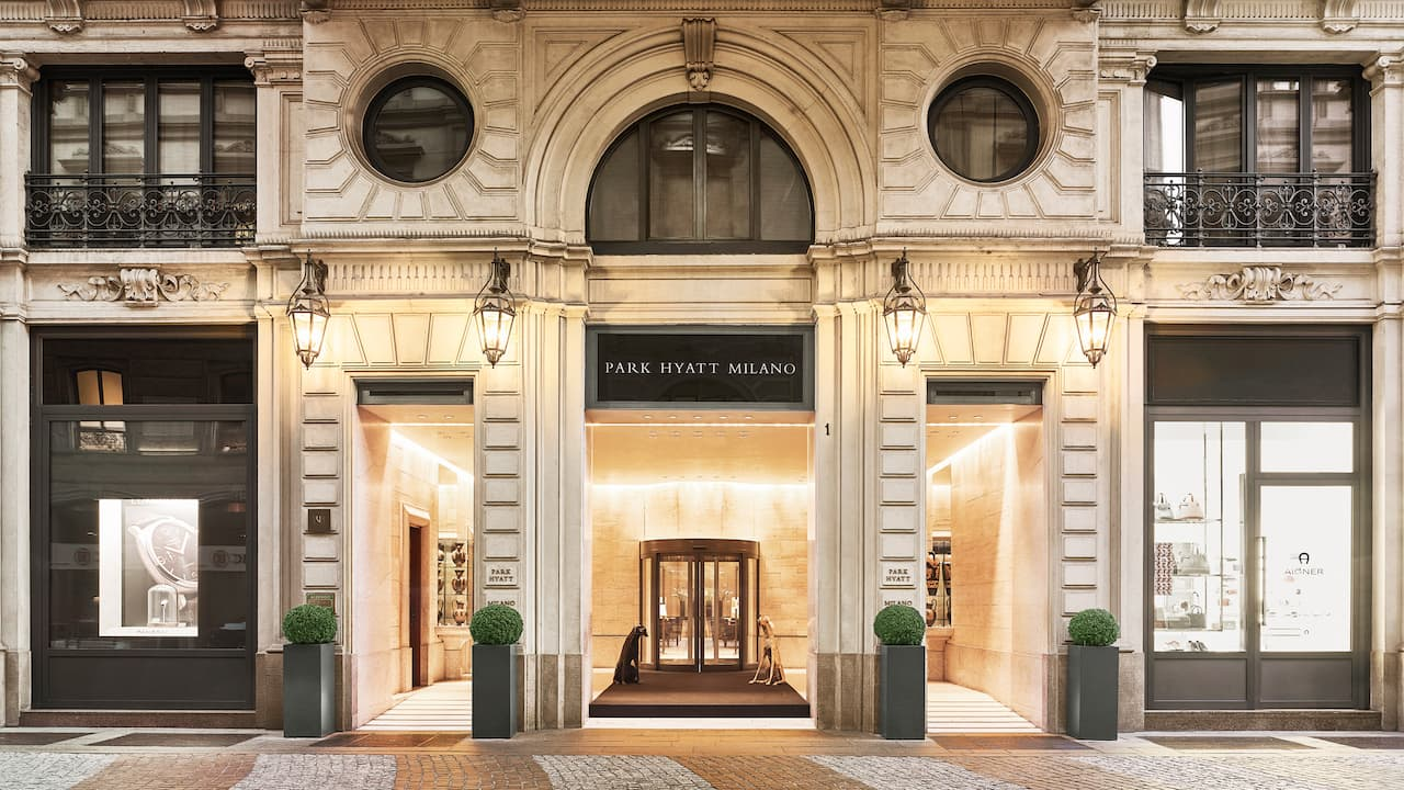 Park Hyatt Milan - Entrance