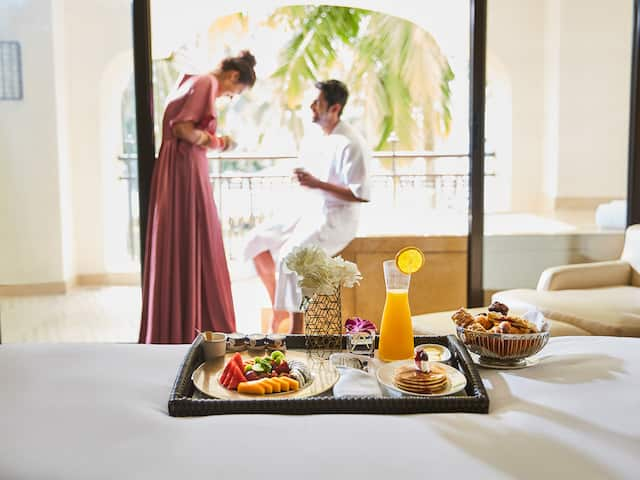 Wedding Honeymoon Breakfast