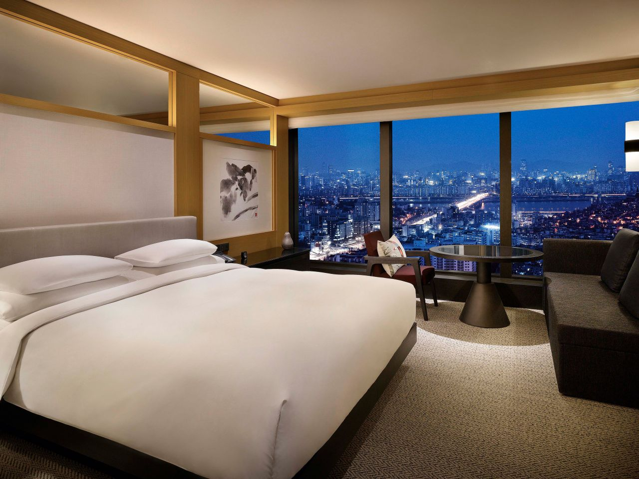 Luxury Hotel Rooms with City Views