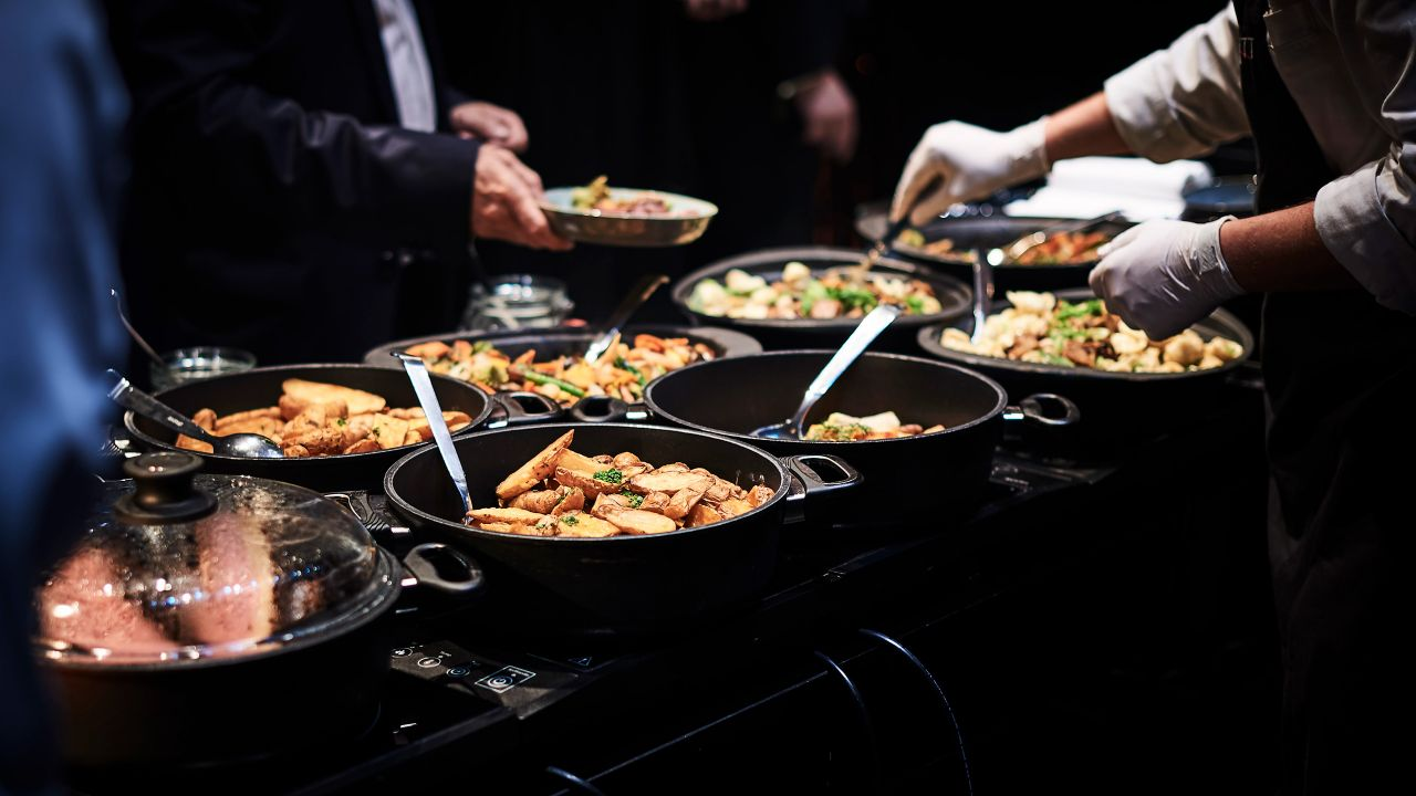 Hyatt Catering Buffet