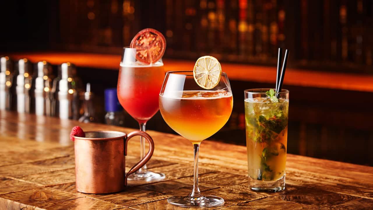 Touzan Bar Cocktails