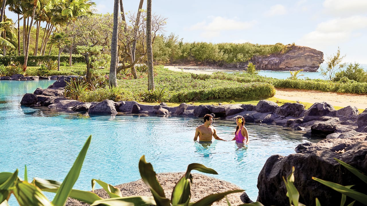 Grand Hyatt Kauai Beachfront Resort  Pool