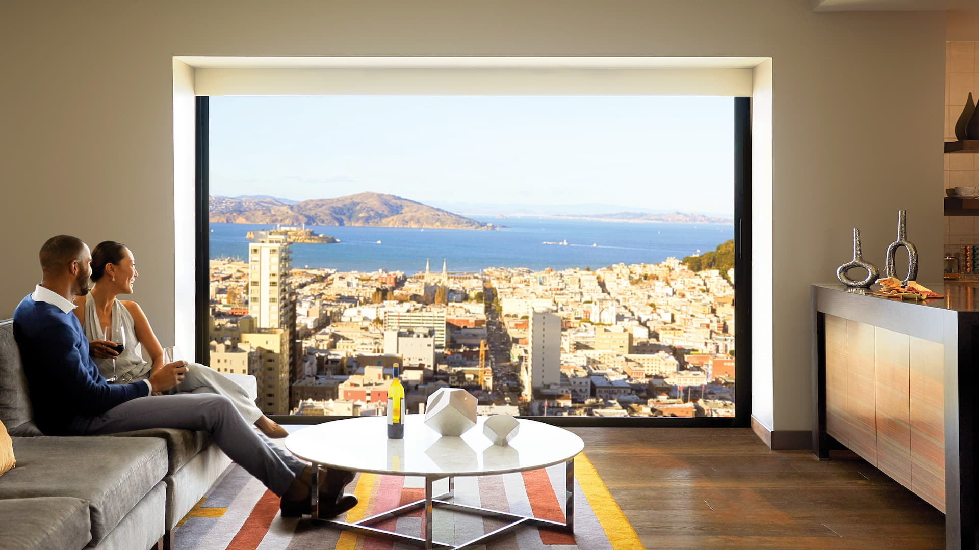 Grand Hyatt San Francisco Suite View