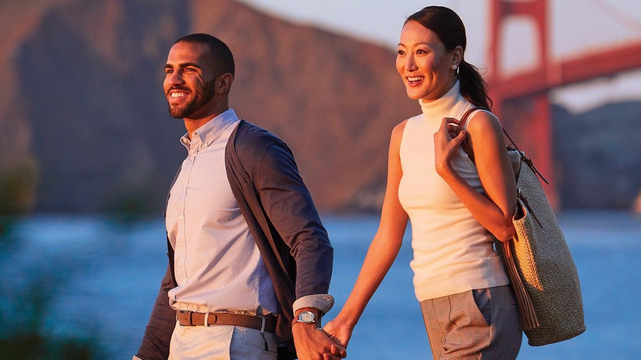 Grand Hyatt San Francisco Golden Gate Bridge Couple