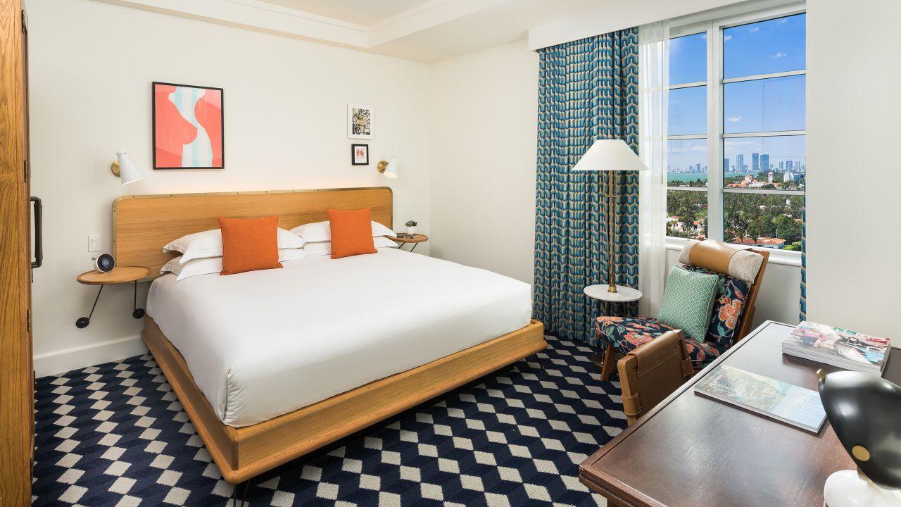 Suite in Miami Beach Florida at The Confidante Miami Beach