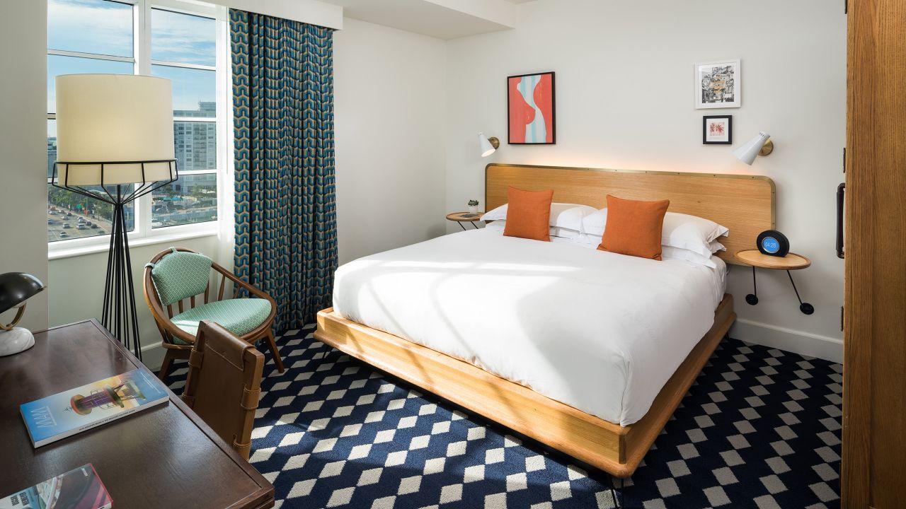 Suite in Miami Beach at The Confidante Miami Beach