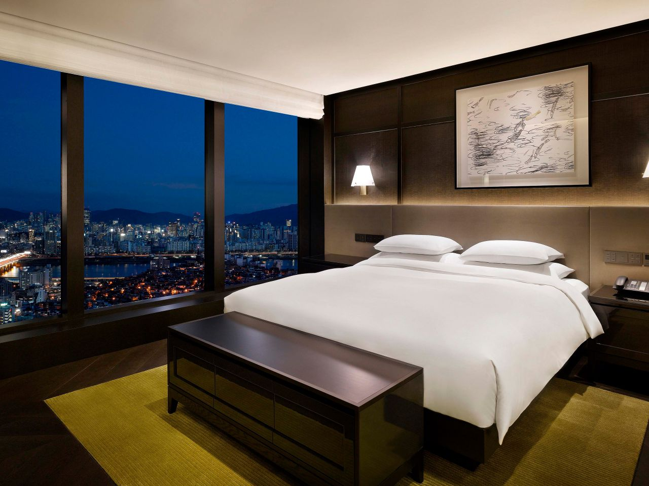 Grand Suite with view of Seoul