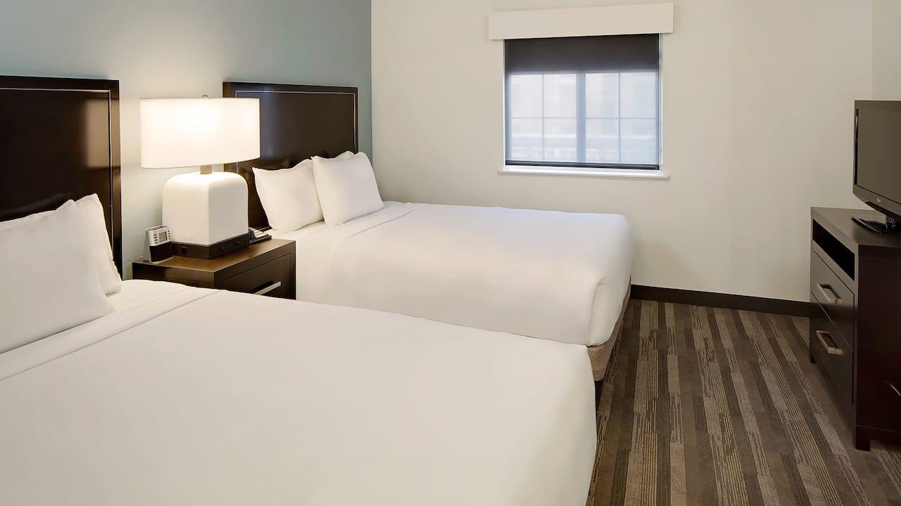 Hyatt House Dallas / Addison two queen guestroom