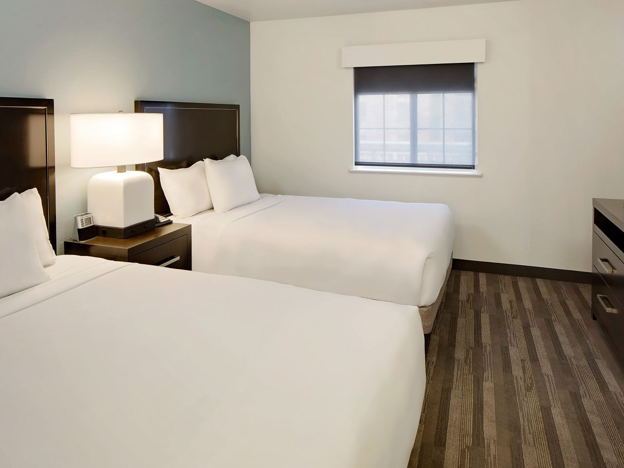 Hyatt House Dallas / Addison two queen guestroom