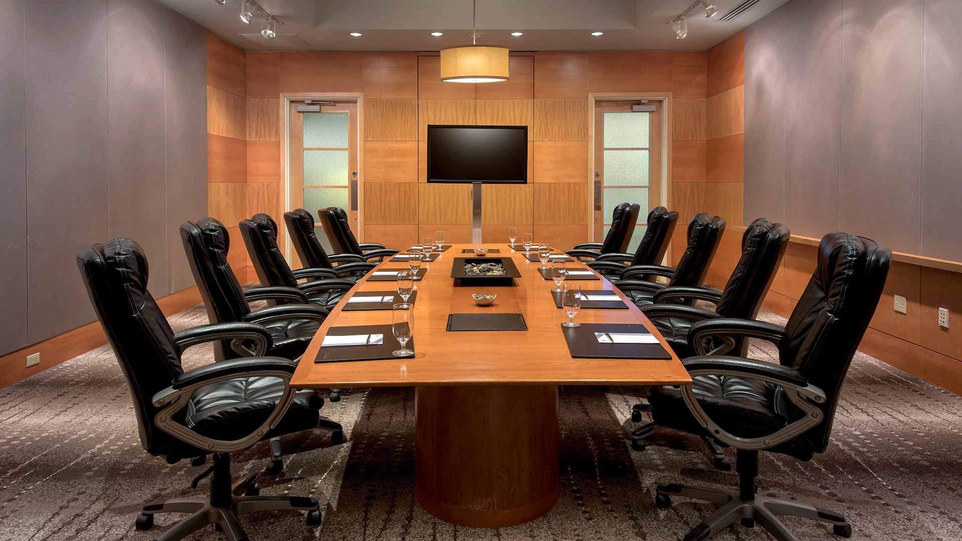 Boardroom Hyatt Regency Pittsburgh International Airport