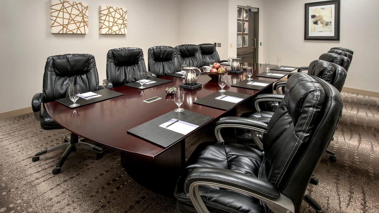 Foerster Armstrong Hughes Boardroom Hyatt Regency Pittsburgh International Airport