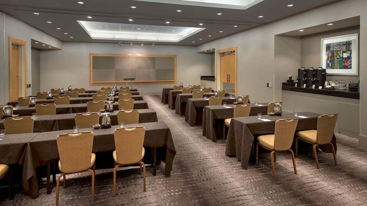 Classroom Meeting Hyatt Regency Pittsburgh International Airport