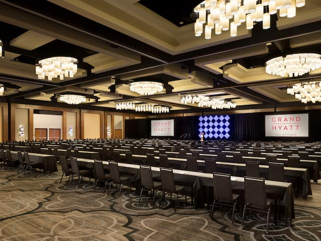 Lone Star Ballroom Event Space Grand Hyatt San Antonio