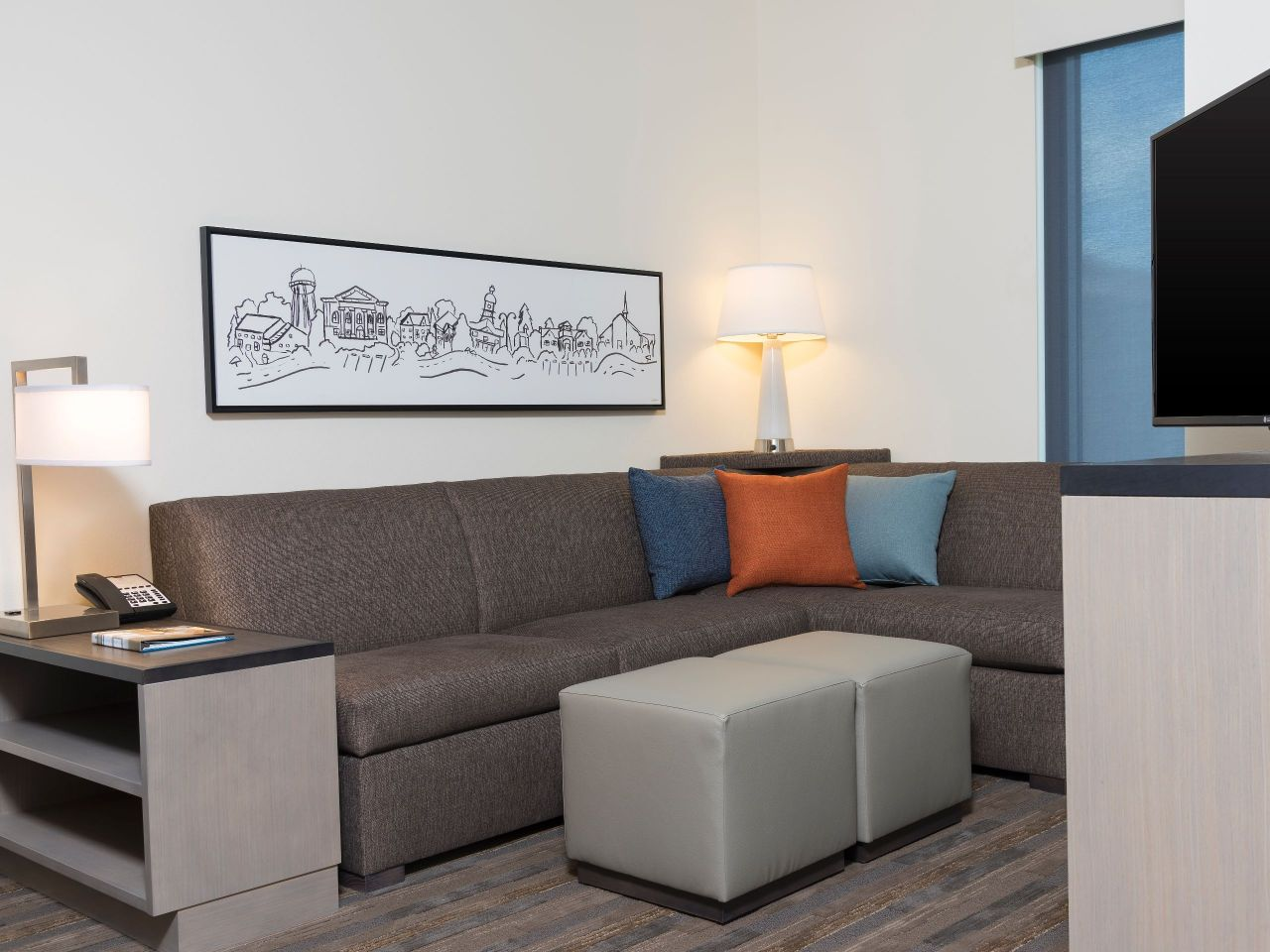 HYATT HOUSE AUSTIN/DOWNTOWN Living Room