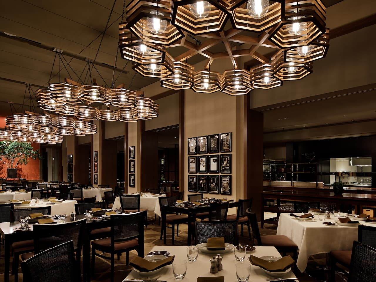 Restaurant dining Interior