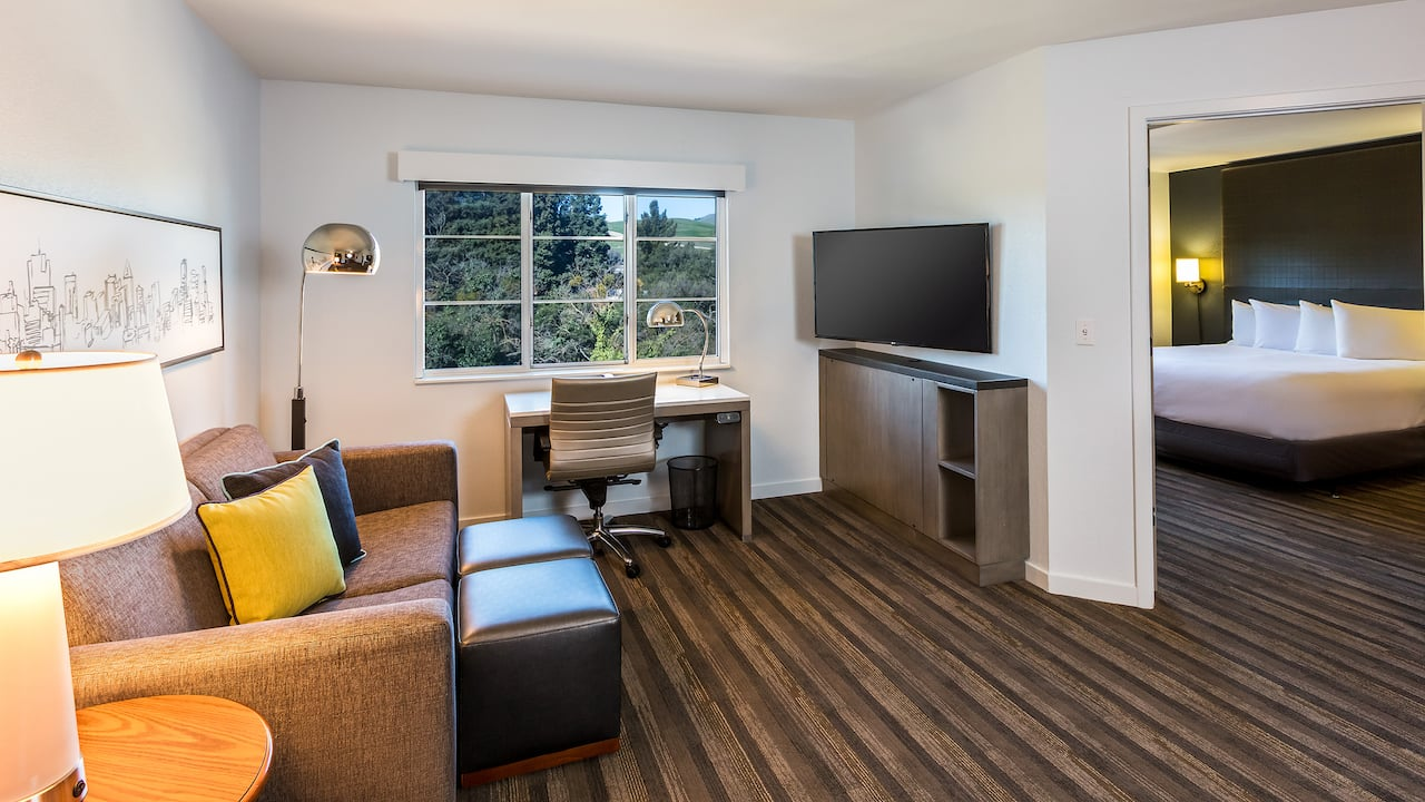 Accessible One Bedroom Suite