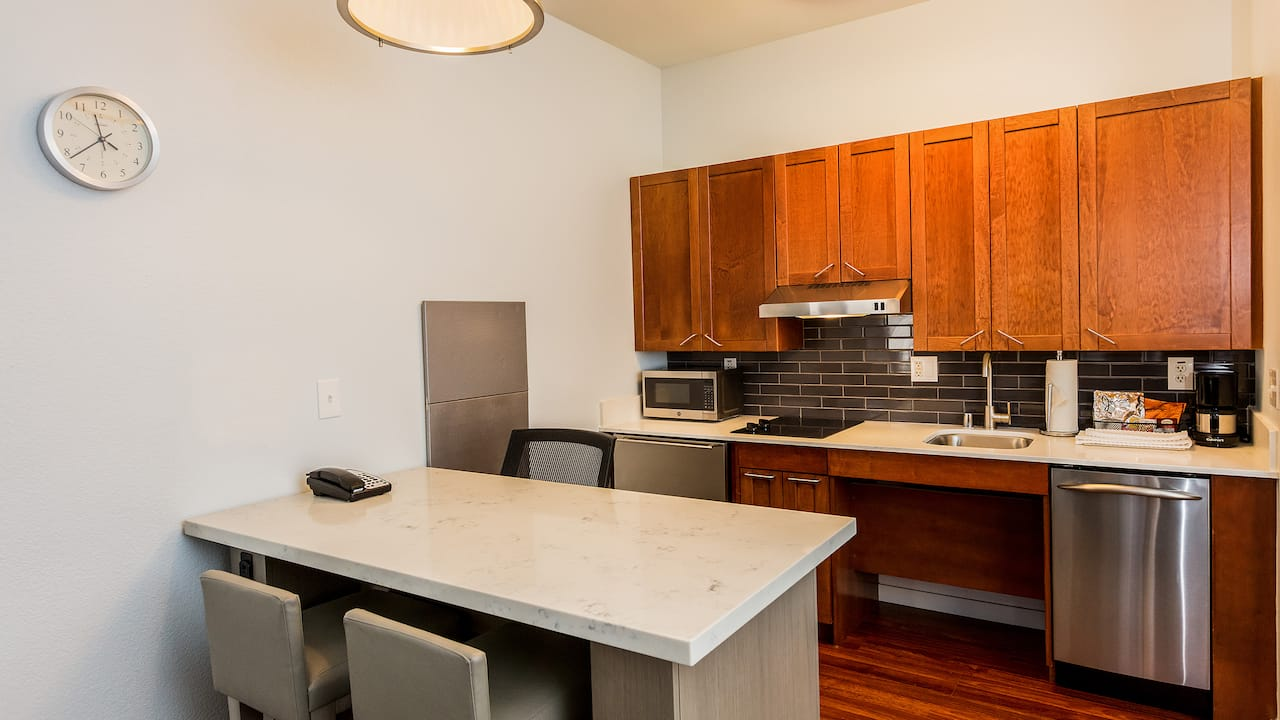 Accessible Studio Suite Kitchen