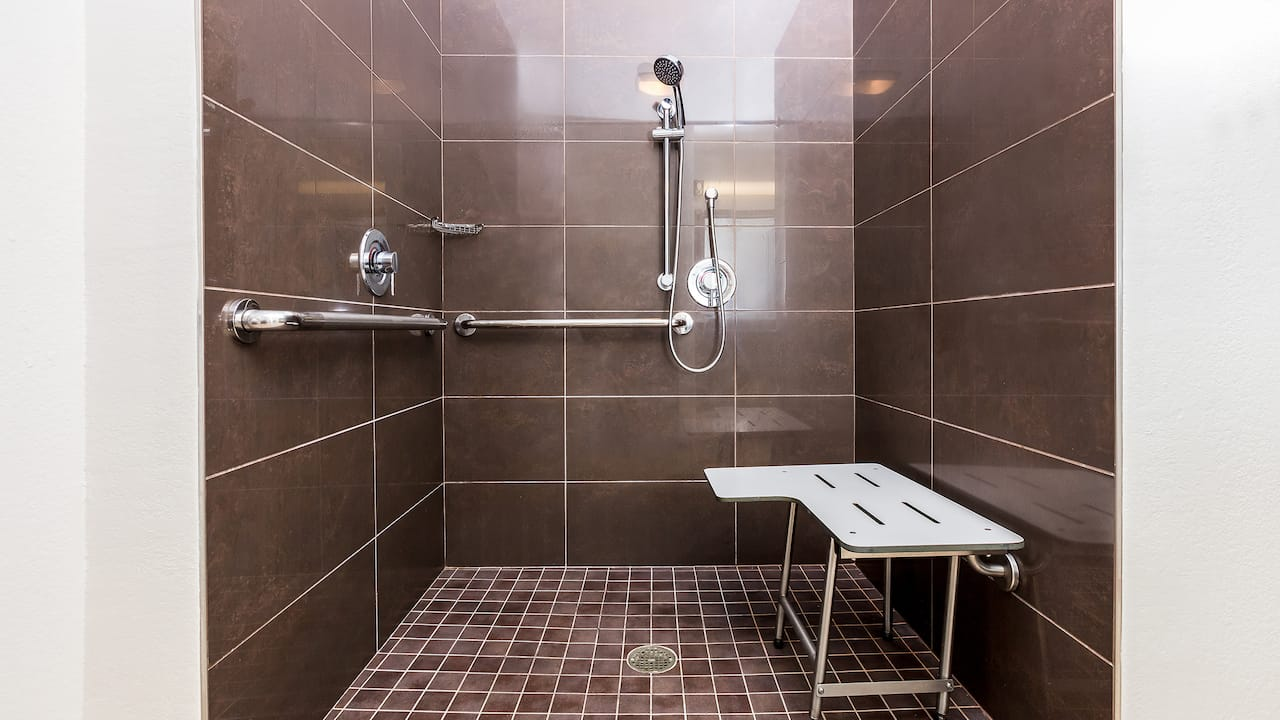 Accessible Studio Suite Shower