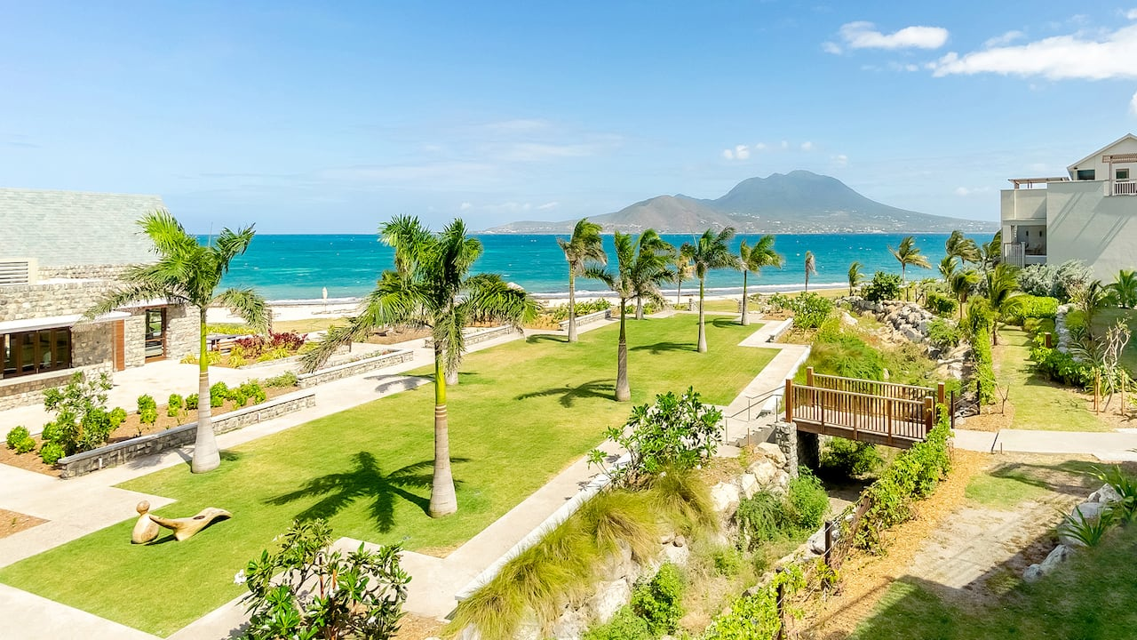 The Courtyard Lawn | Park Hyatt St. Kitts