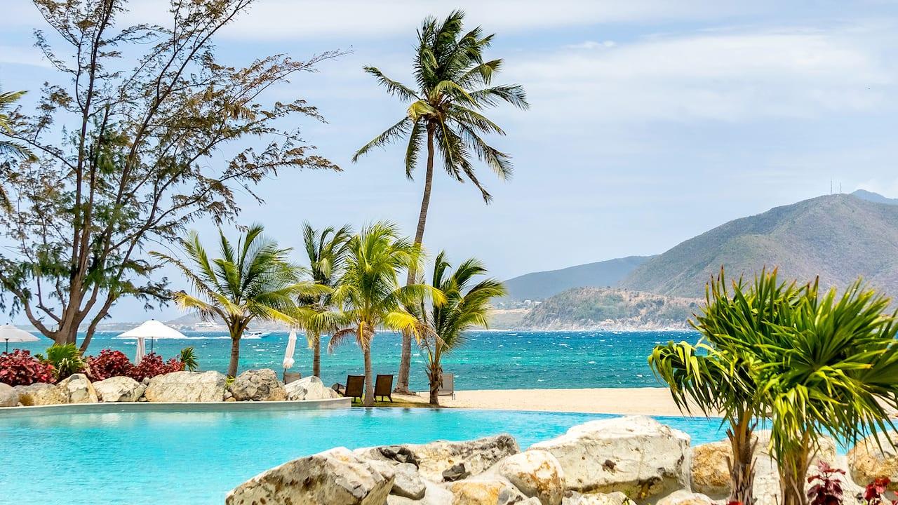 Park Hyatt St. Kitts Christophe Harbour Lagoon Pool Area