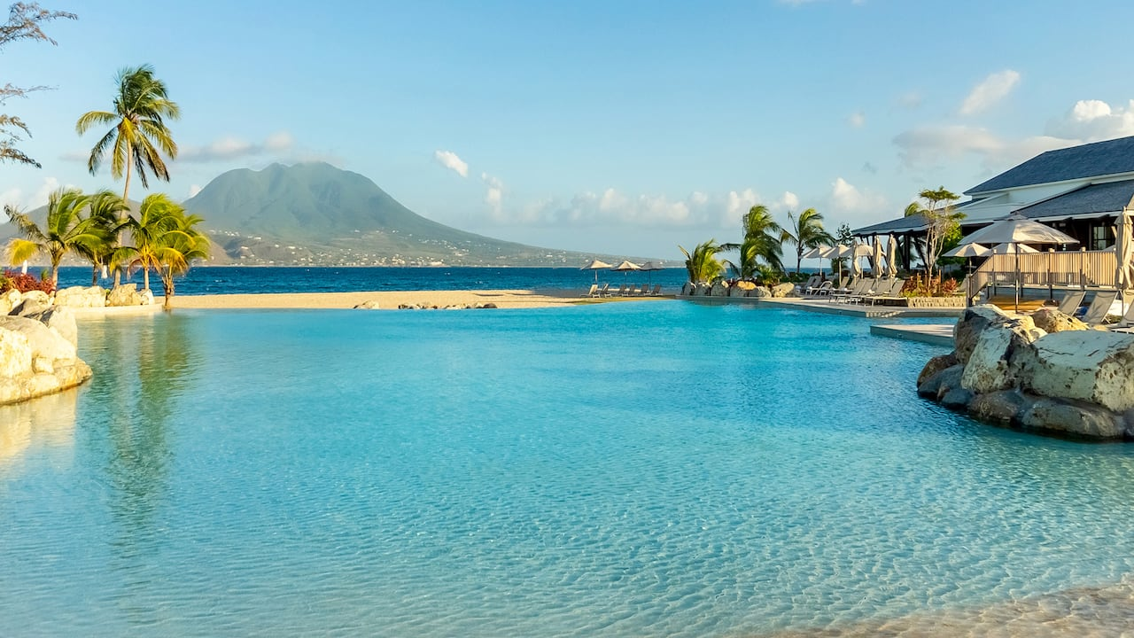 Park Hyatt St. Kitts Christophe Harbour Exterior Lagoon Pool