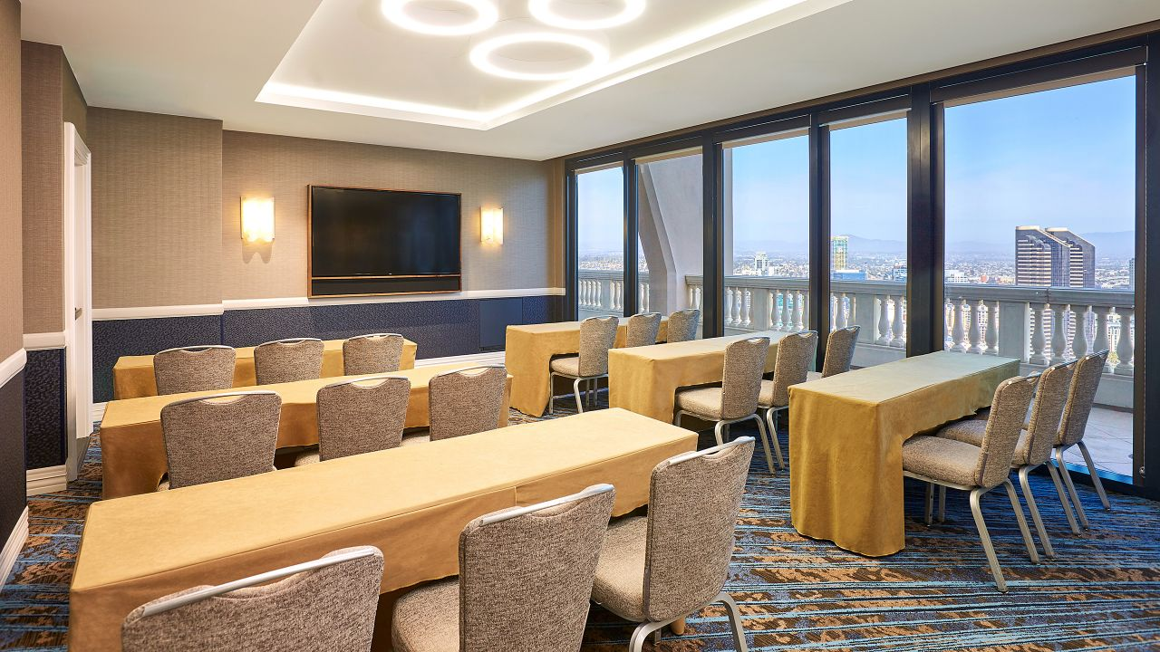 Classroom Style Meeting Room at Manchester Grand Hyatt San Diego