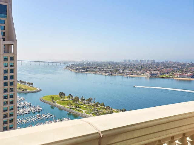 View at Manchester Grand Hyatt San Diego