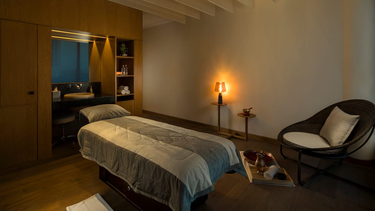 Andaz Delhi Spa Treatment Room