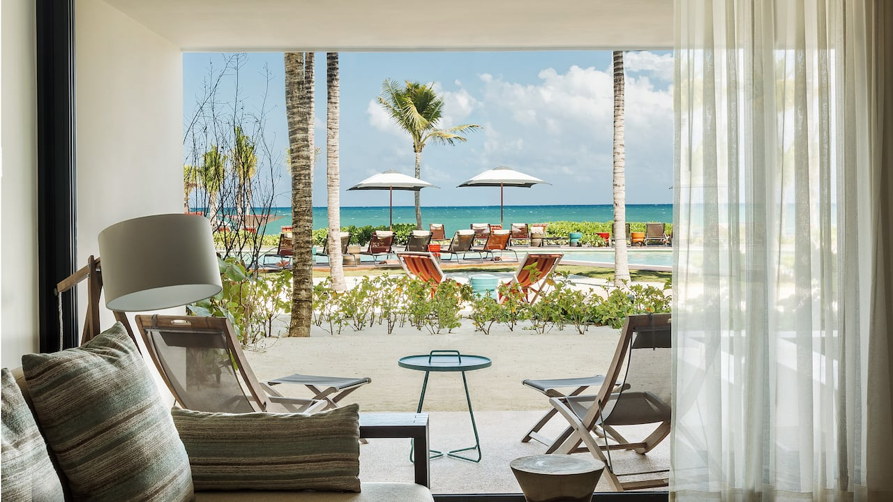 Andaz Mayakoba Resort Riviera Maya ocean view suite