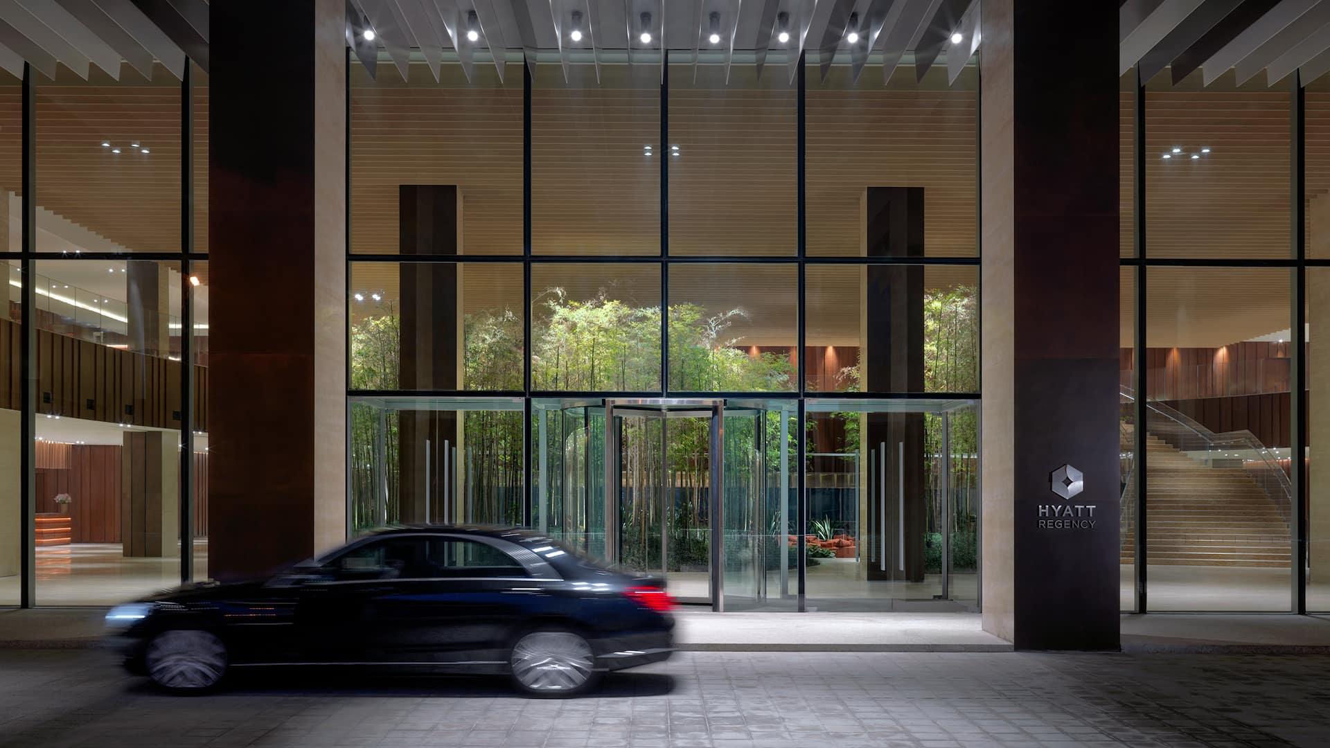 Hyatt Regency Beijing Wangjing Hotel Entrance