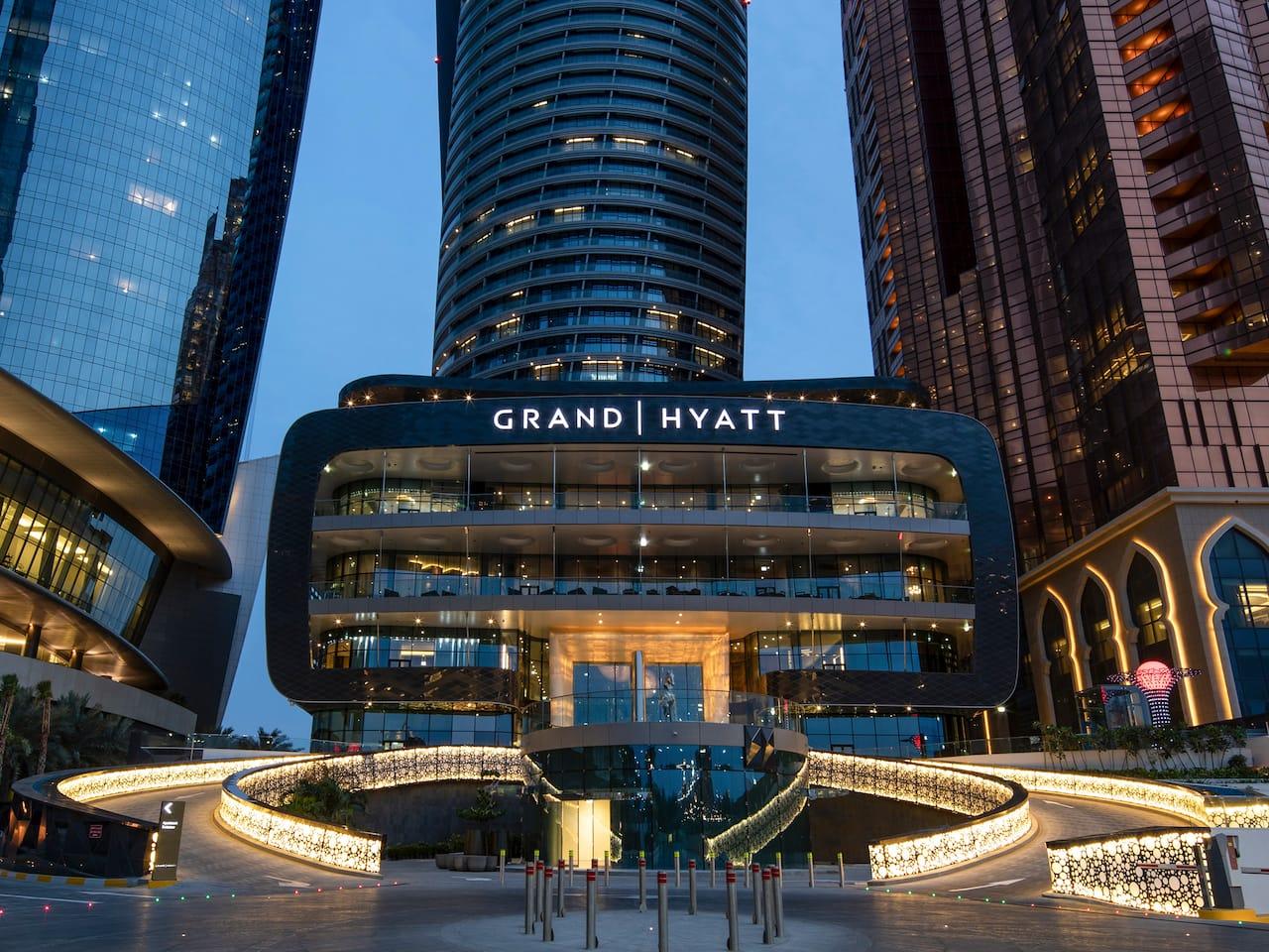Grand Hyatt Abu Dhabi Exterior