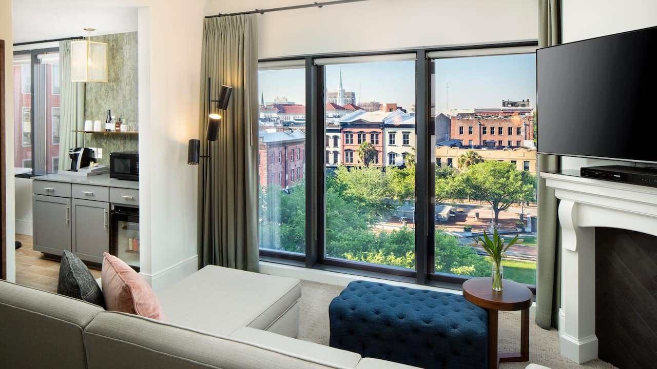Andaz Savannah Ellis Square View Room