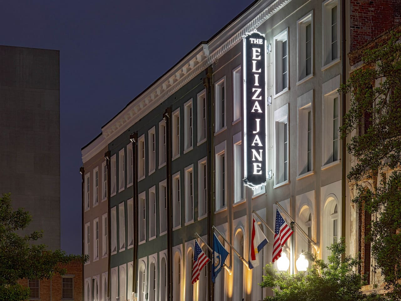 Exterior Signage at The Eliza Jane New Orleans