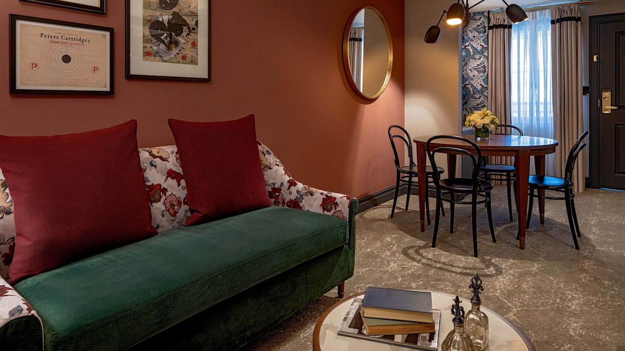 One Bedroom ADA King Suite Tub The Eliza Jane