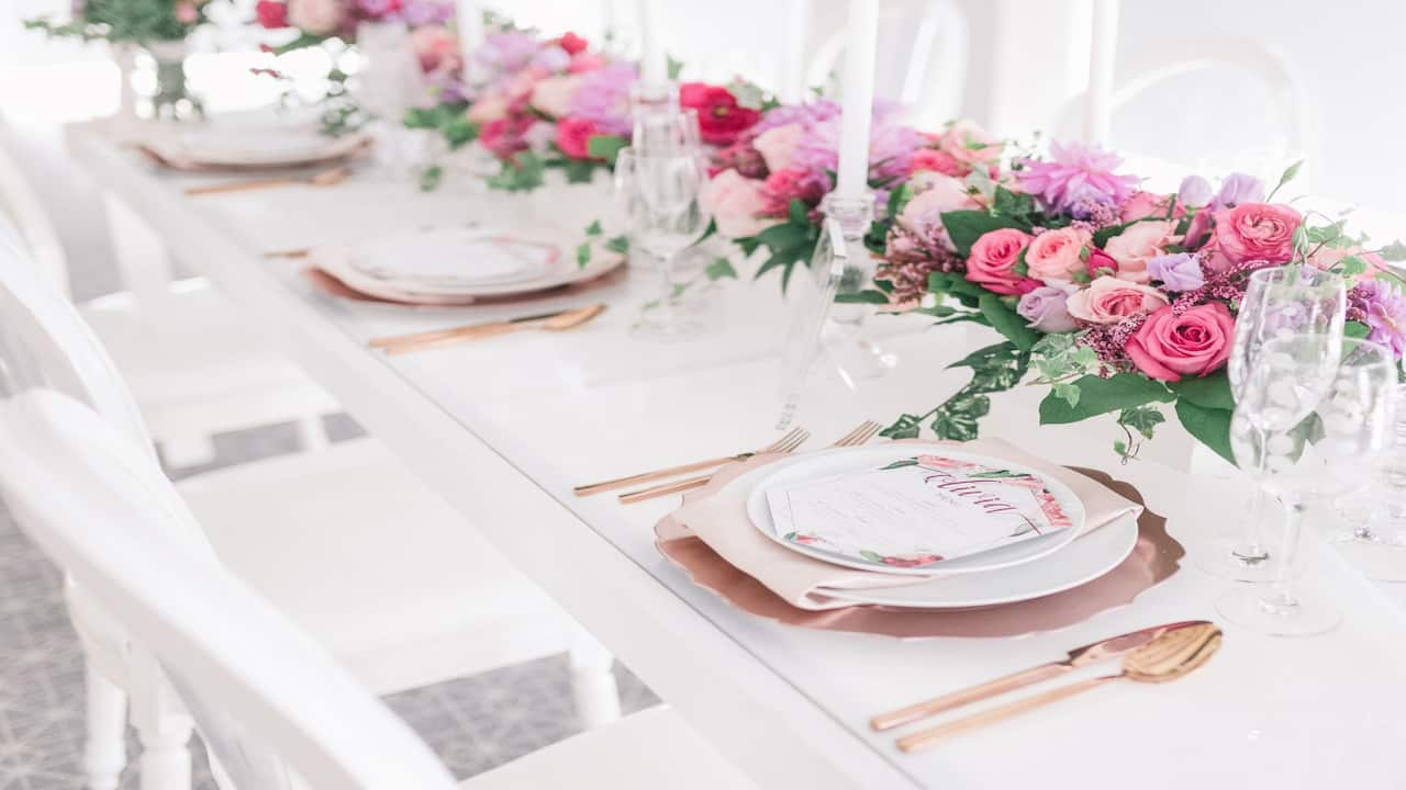 Wedding Studio Table